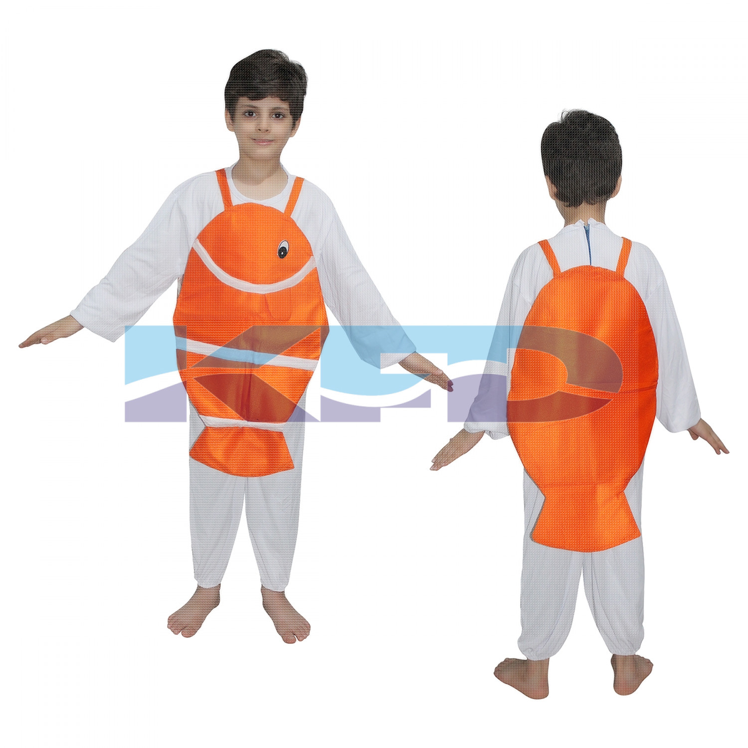 Nemo Fish fancy dress for kids,Insect Costume for School Annual function/Theme Party/Competition/Stage Shows Dress