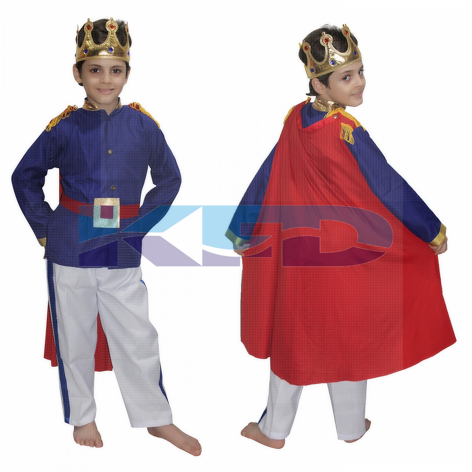 Prince Charming Fancy Dress for kids,Fairy Teles Characters,Story book Costume for Annual function/Theme Party/Competition/Stage Shows/Birthday Party Dress