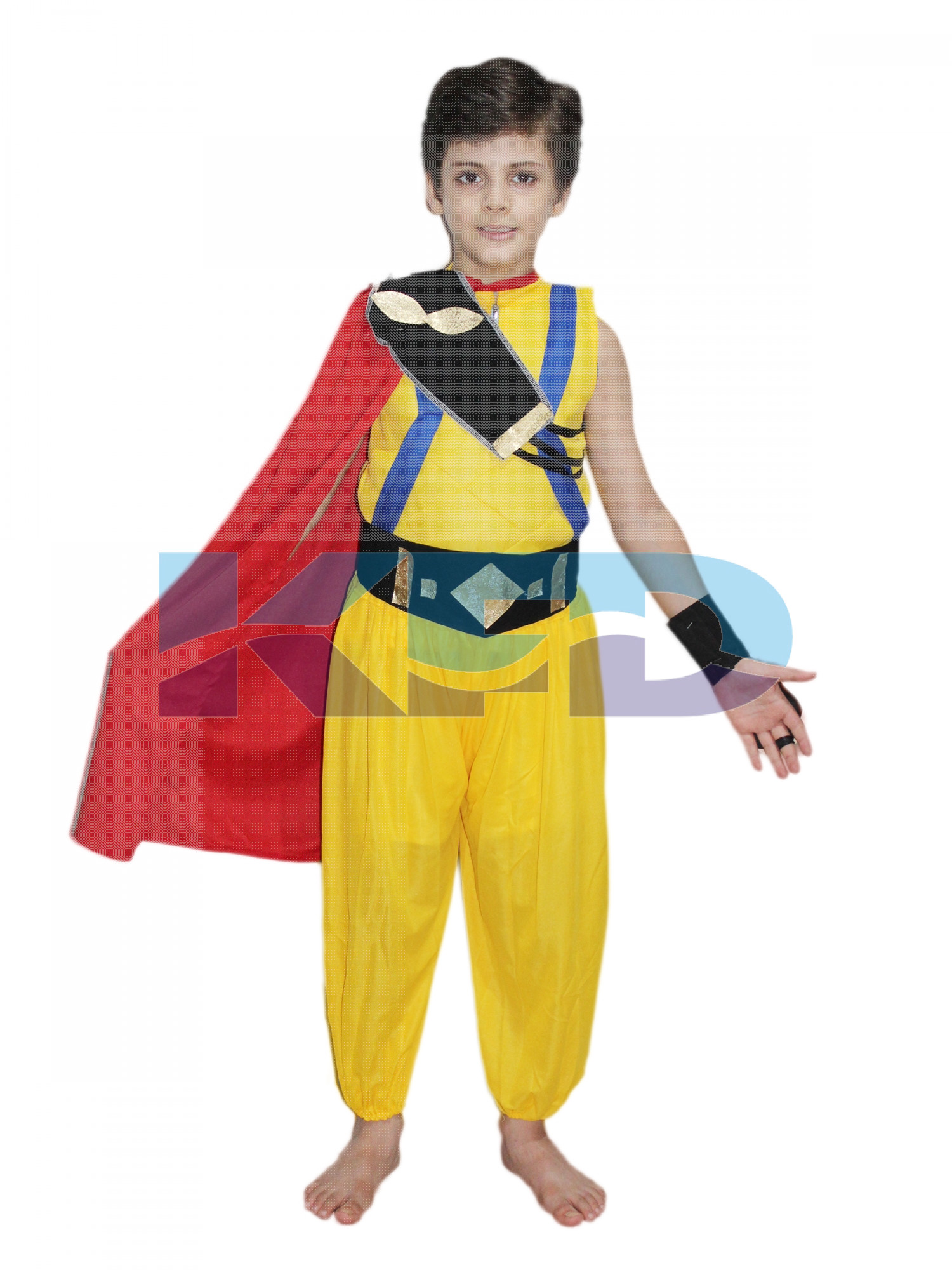 Balbeer Fancy dress for kids,Famous Character Costume for Annual function/Theme Party/Stage Shows/Competition/Birthday Party Dress