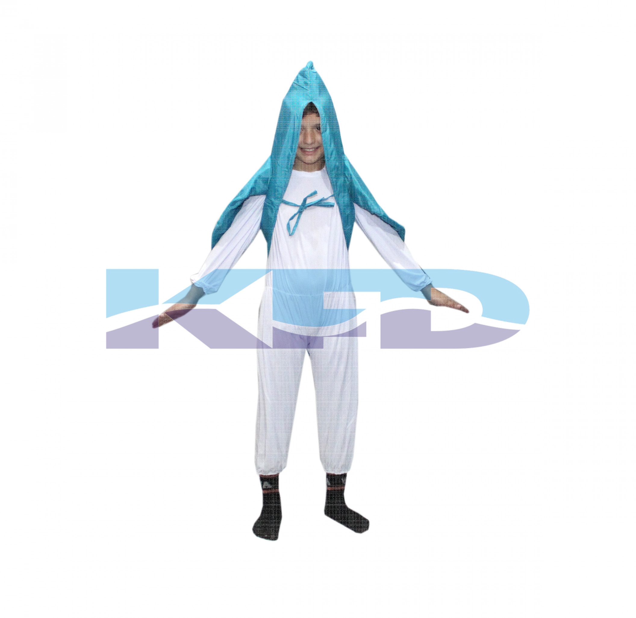 Fish Firozi Color fancy dress for kids,Insect Costume for School Annual function/Theme Party/Competition/Stage Shows Dress
