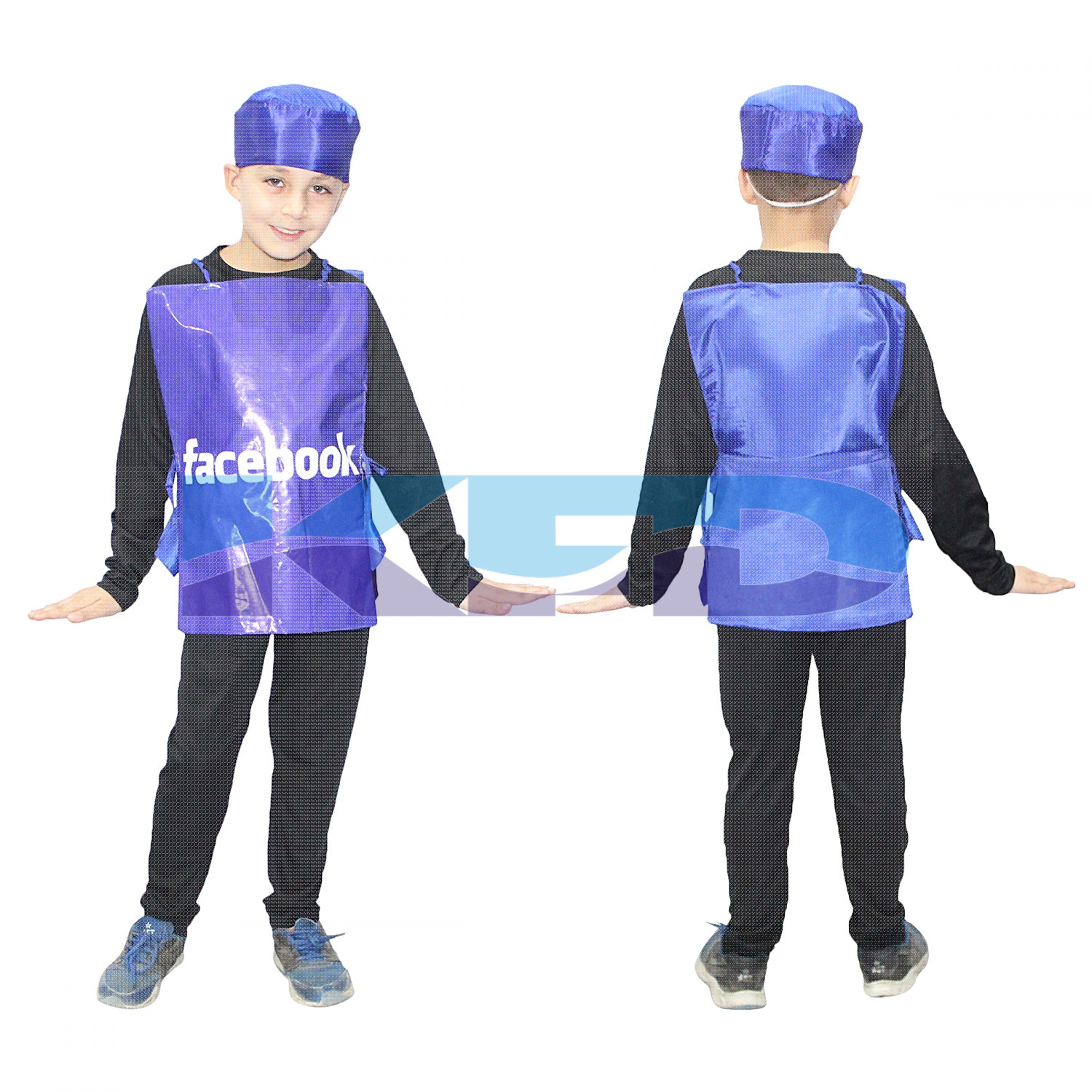 Facebook fancy dress for kids,Object Costume for School  Annual function/Theme Party/Competition/Stage Shows Dress