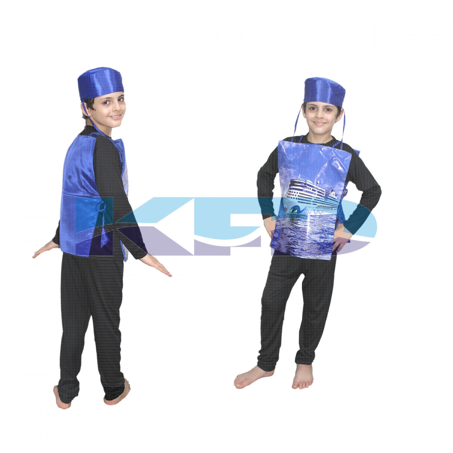 Ship fancy dress for kids,Object Costume for School  Annual function/Theme Party/Competition/Stage Shows Dress