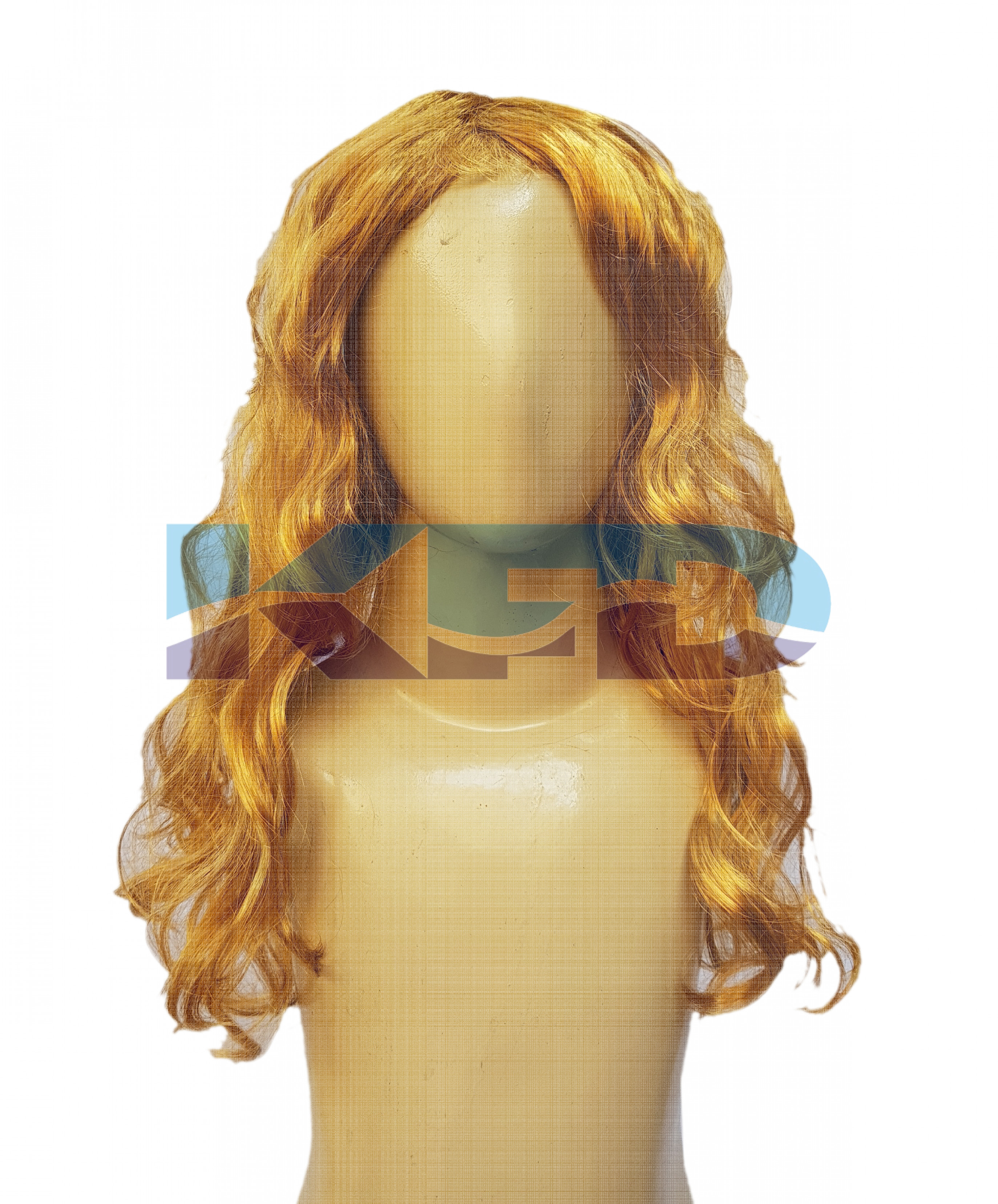 Ladies Hair Wig Golden Color