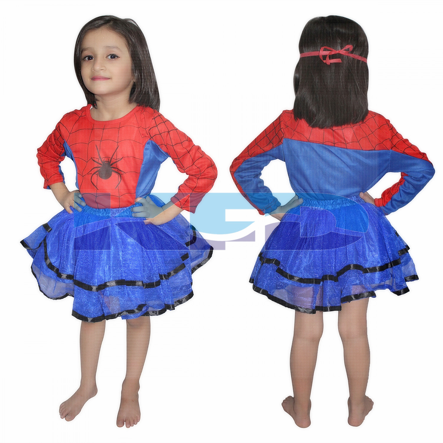 Spider Girl Super Hero Costume For Girl,CosPlay Costume,California Costume School Annual function/Theme Party/Competition/Stage Shows/Birthday Party Dress