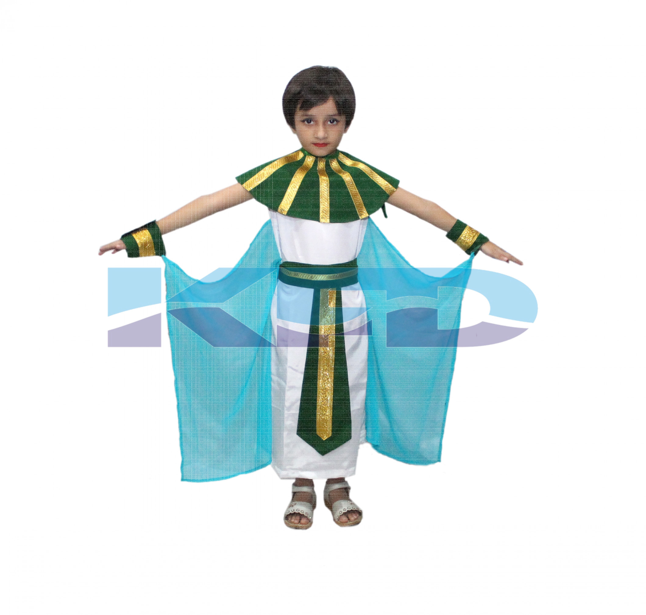 Egyptian Girl Costume Of International Traditional Wear For School Annual function/Theme Party/Competition/Stage Shows/Birthday Party Dress