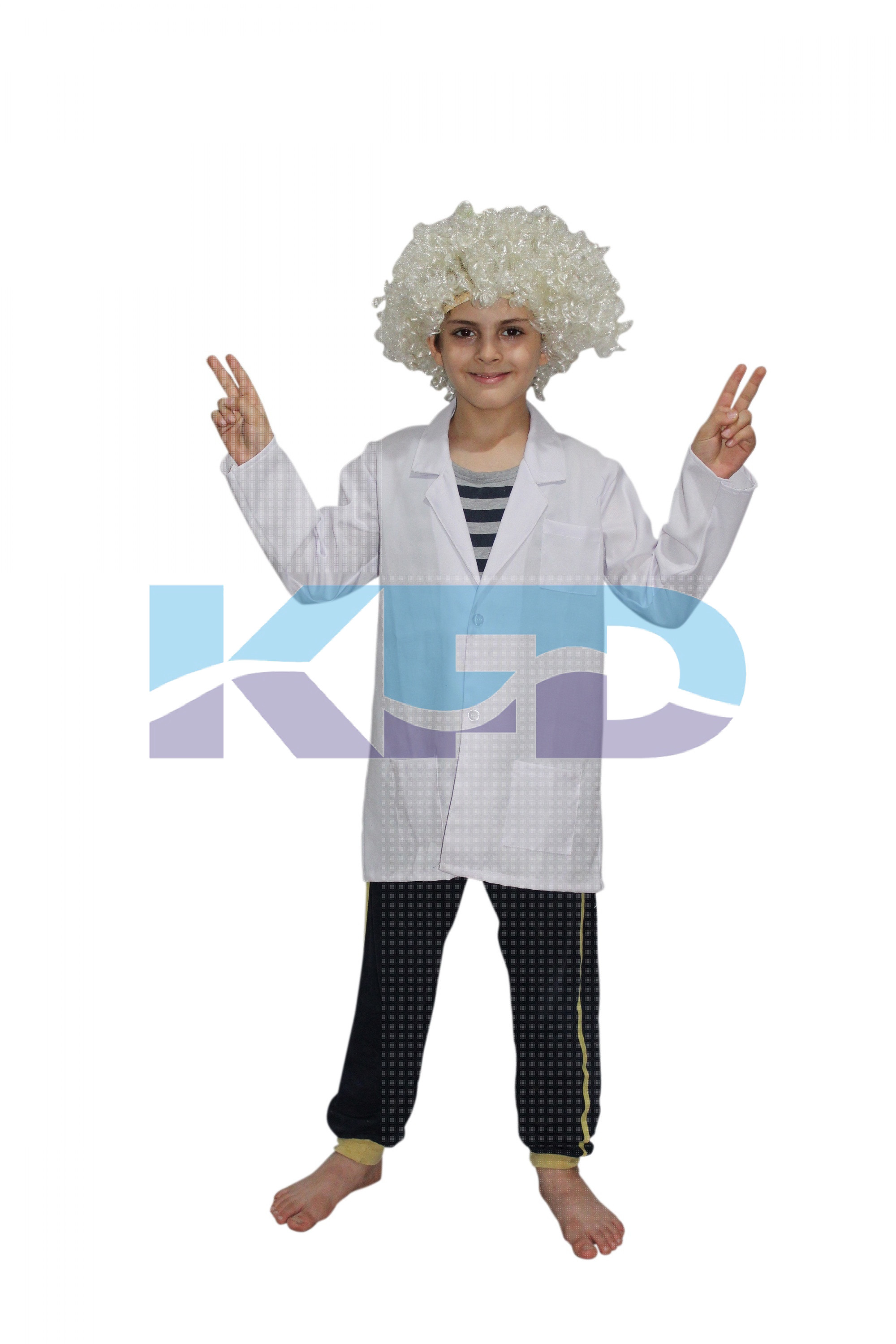Albert Einstein Costume,Scientist Costume For School Annual function/Theme Party/Competition/Stage Shows Dress