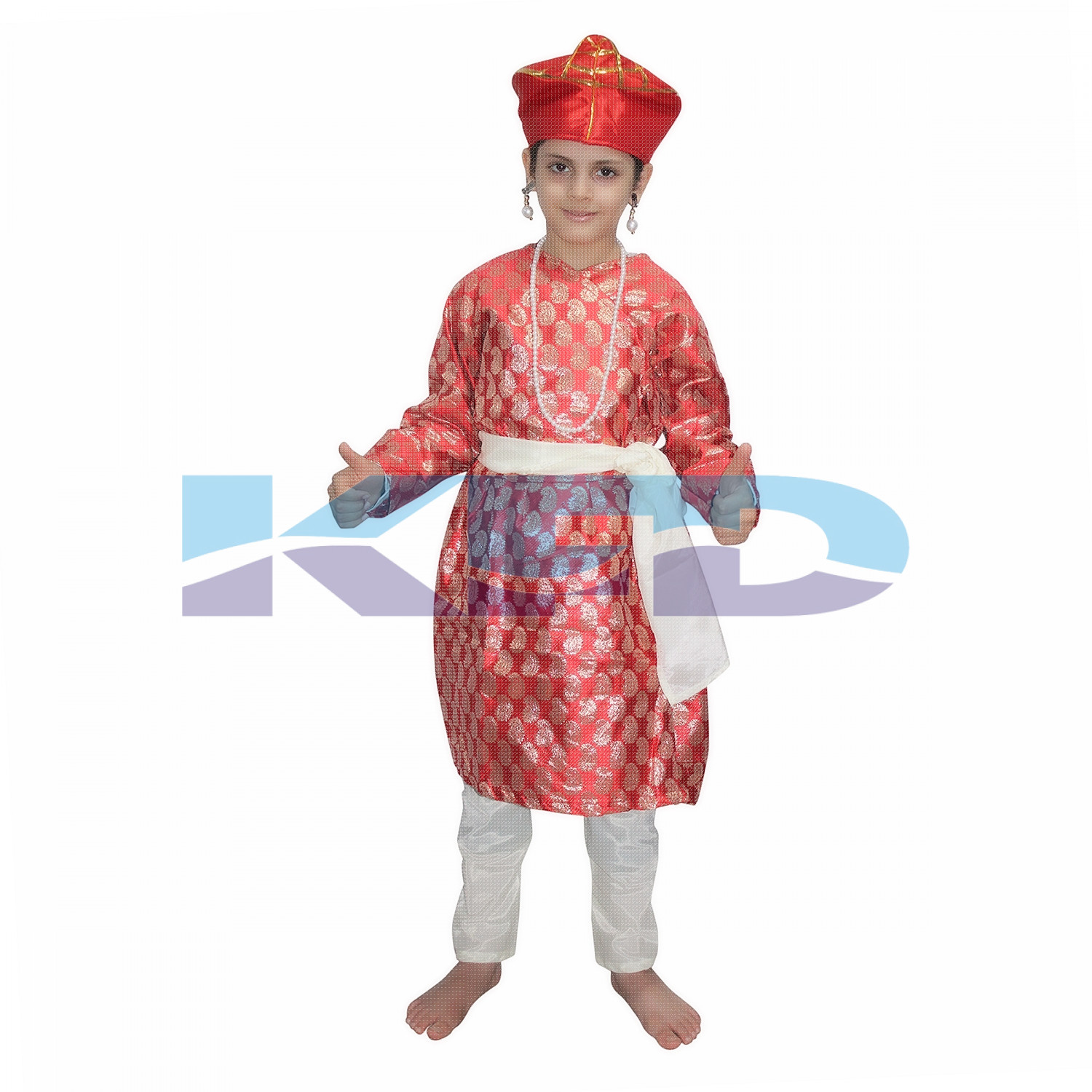 Baji Rao Maratha King Peshwar Costume for School Annual function/Theme Party/Competition/Stage Shows/Birthday Party Dress