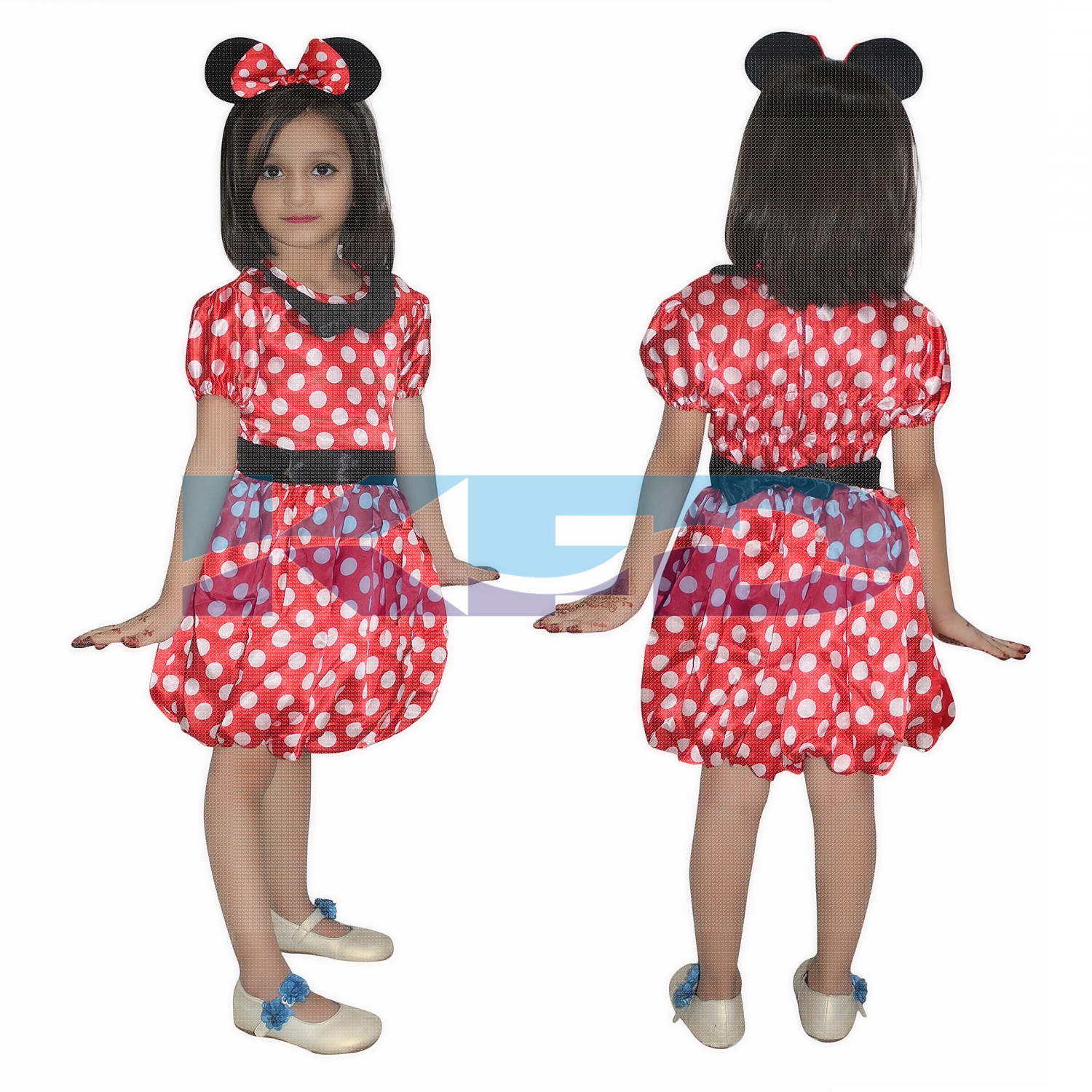 Minnie Mouse Fancy dress for kids,Diseny Cartoon Costume for Annual function/Theme Party/Stage Shows/Competition/Birthday Party Dress