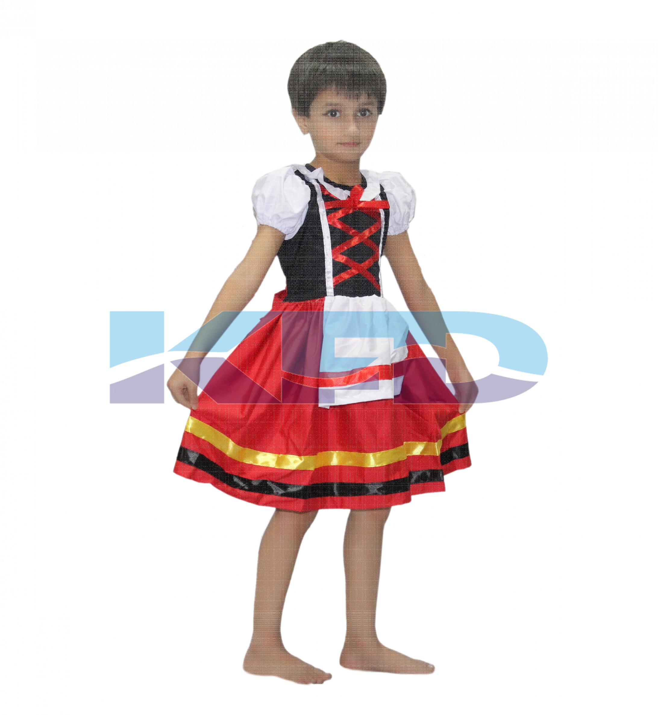 German Girl Costume For Kids/Oktoberfest Beer Costume For Kids/Cosplay Costume for Girls/California Costume/Theme Party/Competition/Stage Shows/Birthday Party Dress