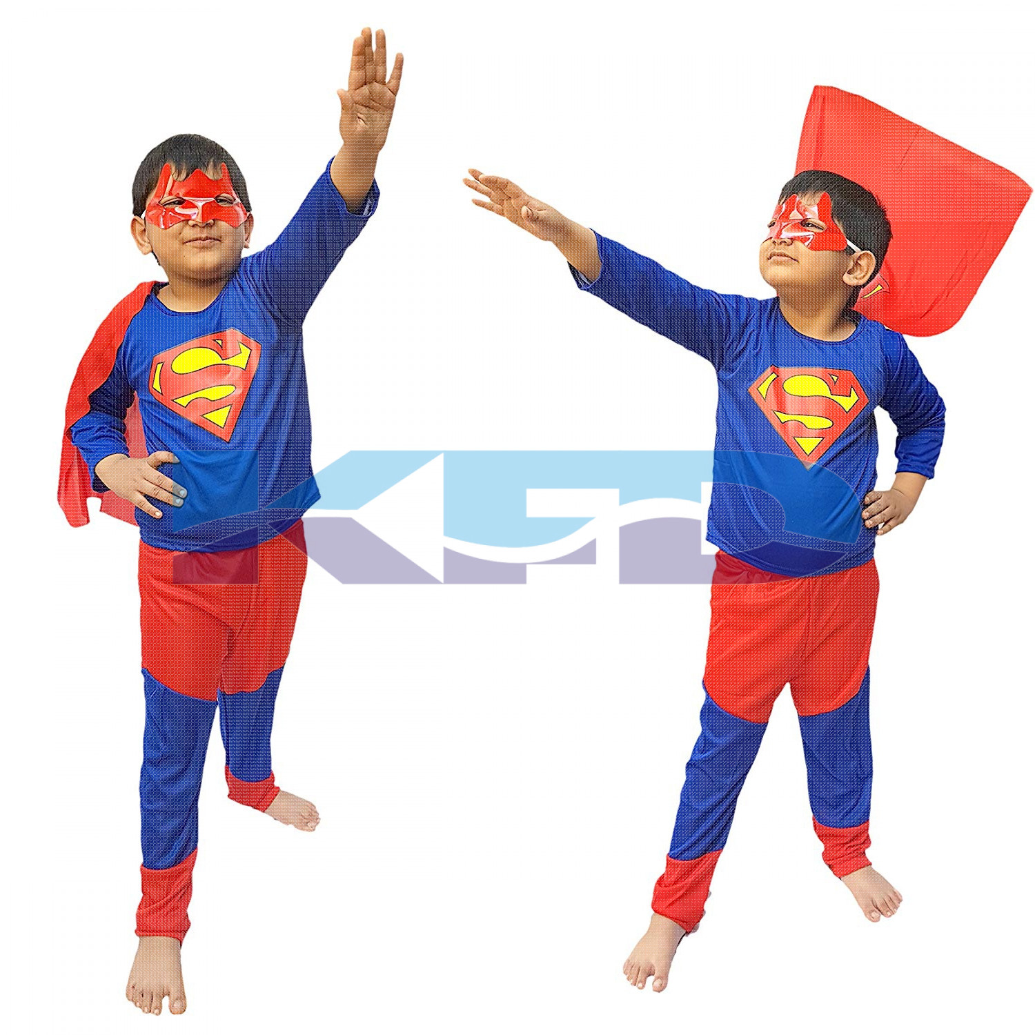 Super Man fancy dress for kids,Super Hero Costume for Annual function/Theme Party/Competition/Stage Shows/Birthday Party Dress