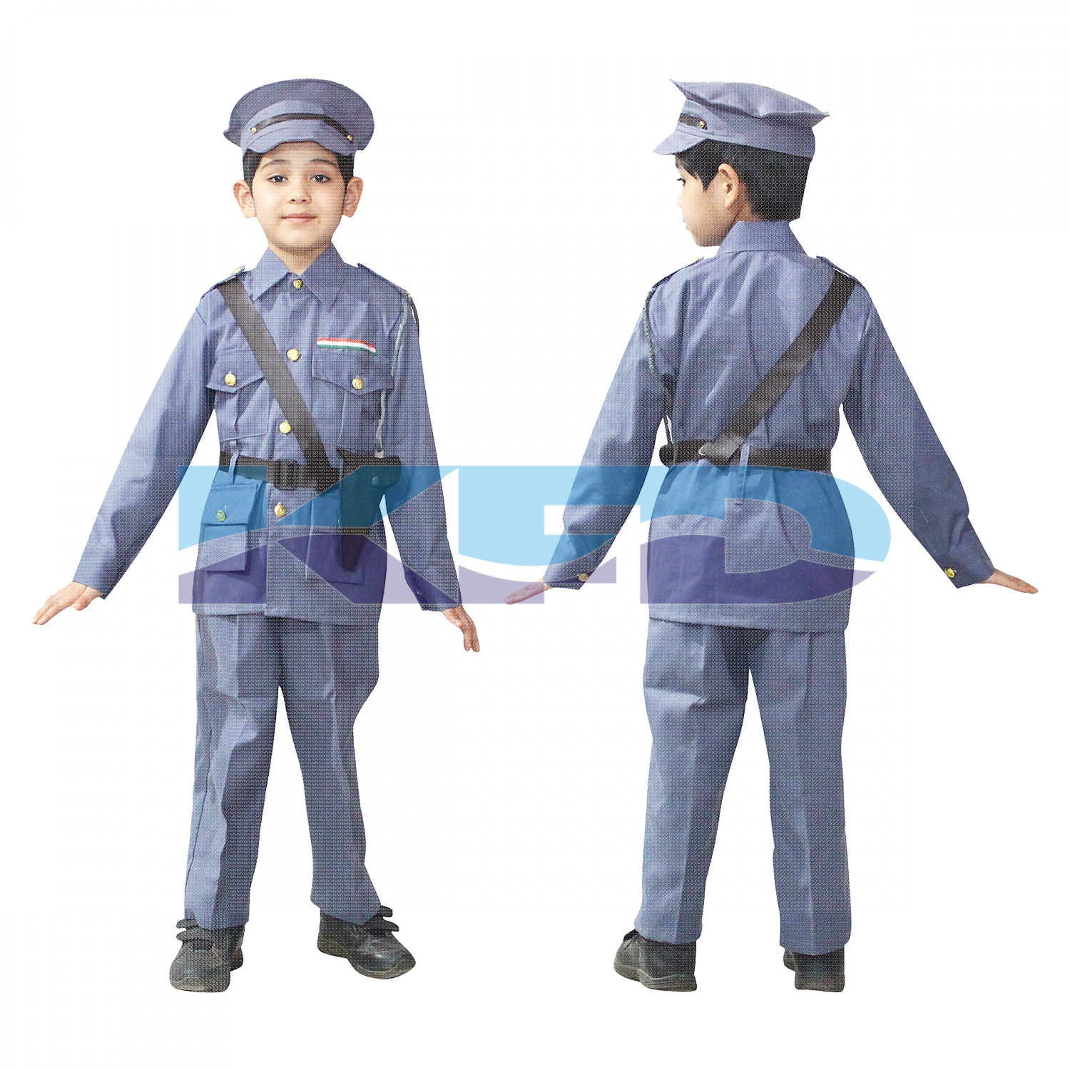 Indian Air Force Our Helper/National Hero Costume For Kids School Annual Function/Theme Party/Competition/Stage Shows Dress