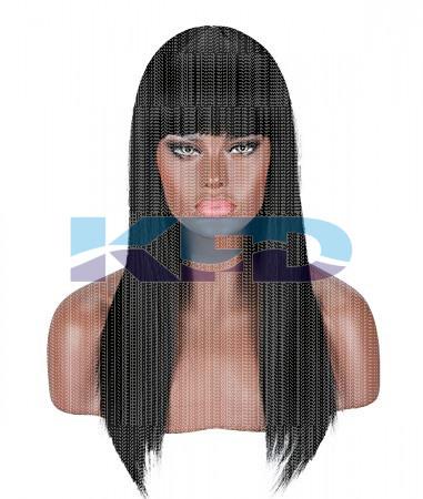 Ladies Hair Wig Black Color