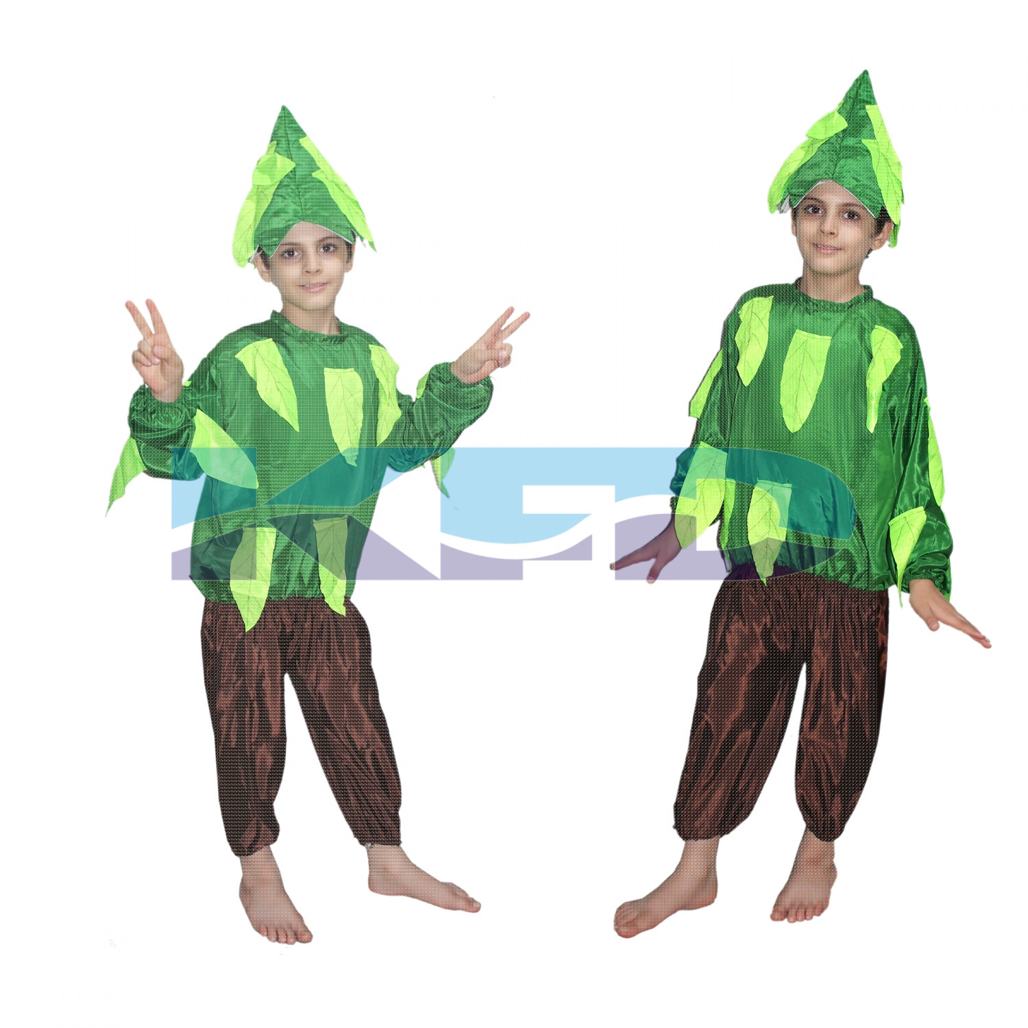 Tree fancy dress for kids,Nature Costume for Annual function/Theme Party/Stage Shows/Competition/Birthday Party Dress