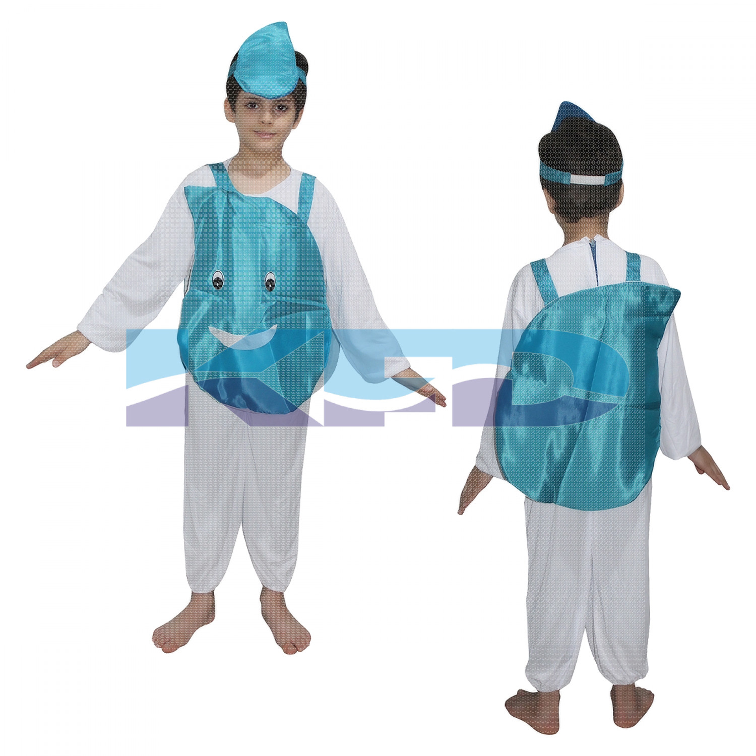 Water Drop fancy dress for kids,Nature Costume for Annual function/Theme Party/Competition/Stage Shows Dress