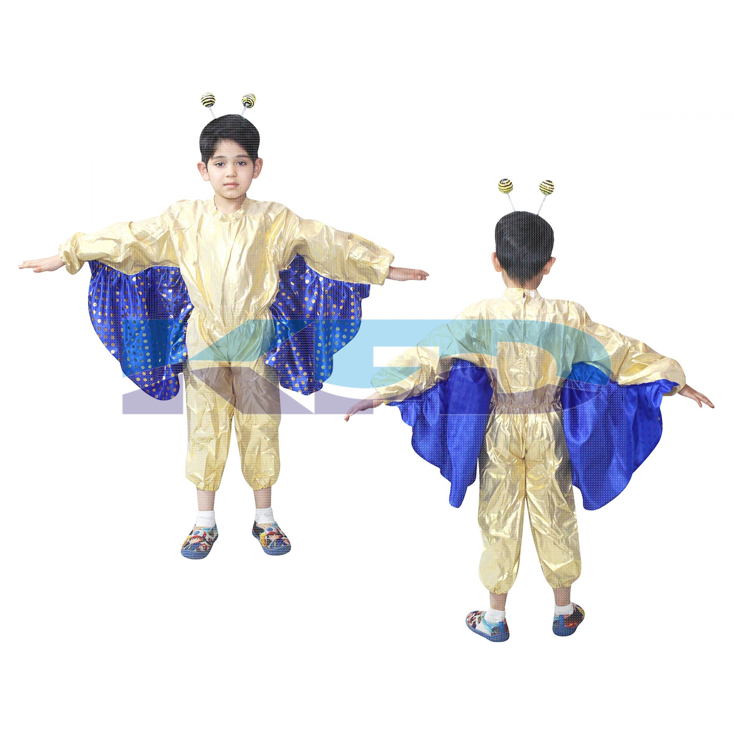 Butterfly Boy fancy dress for kids,Insect Costume for School Annual Function/Theme Party/Competition/Stage Shows Dress