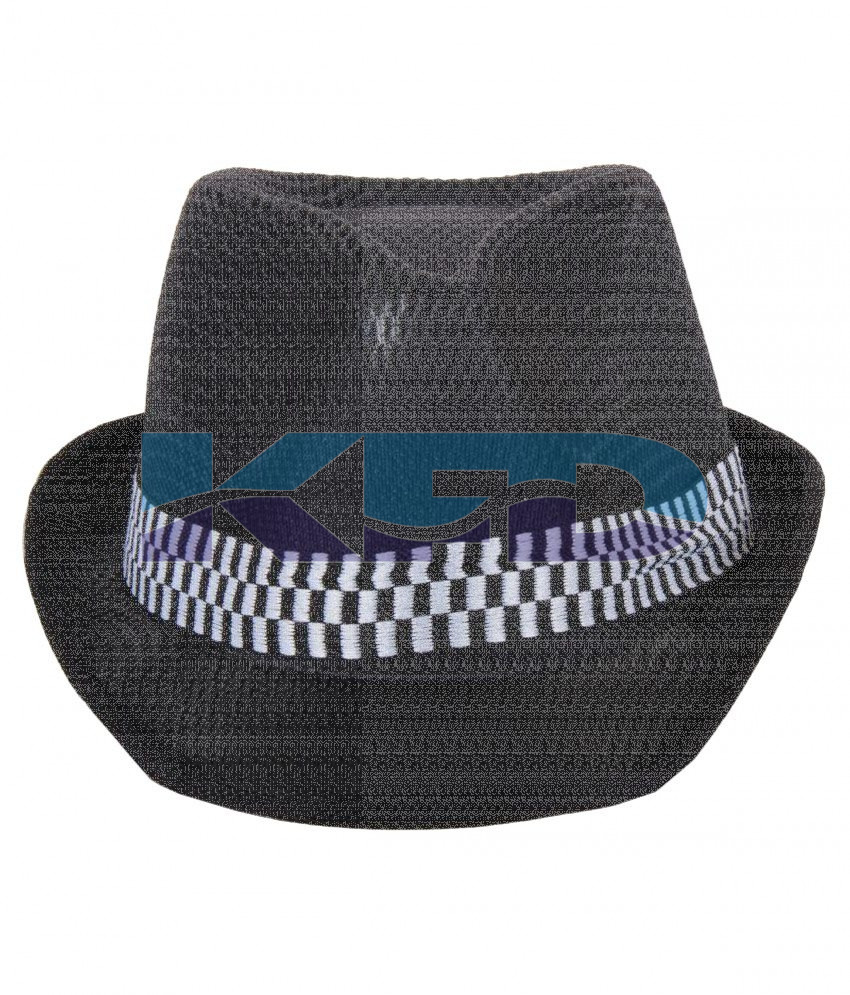 Black Color Hat Nett For School Annual function/Theme Party/Competition/Stage Shows/Birthday Party Dress