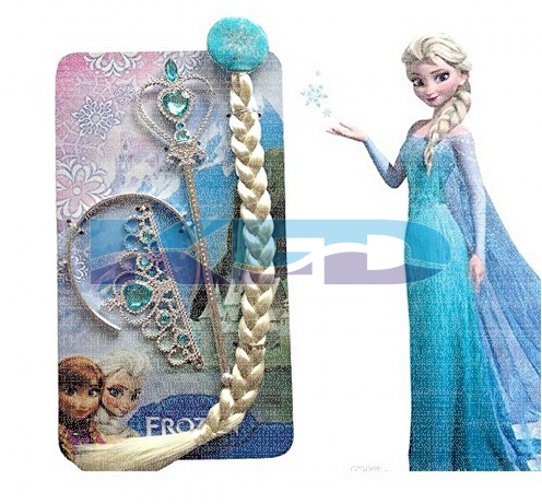 Princes Elsa Accessories,western costume For School Annual function/Theme Party/Competition/Stage Shows/Birthday Party Dress