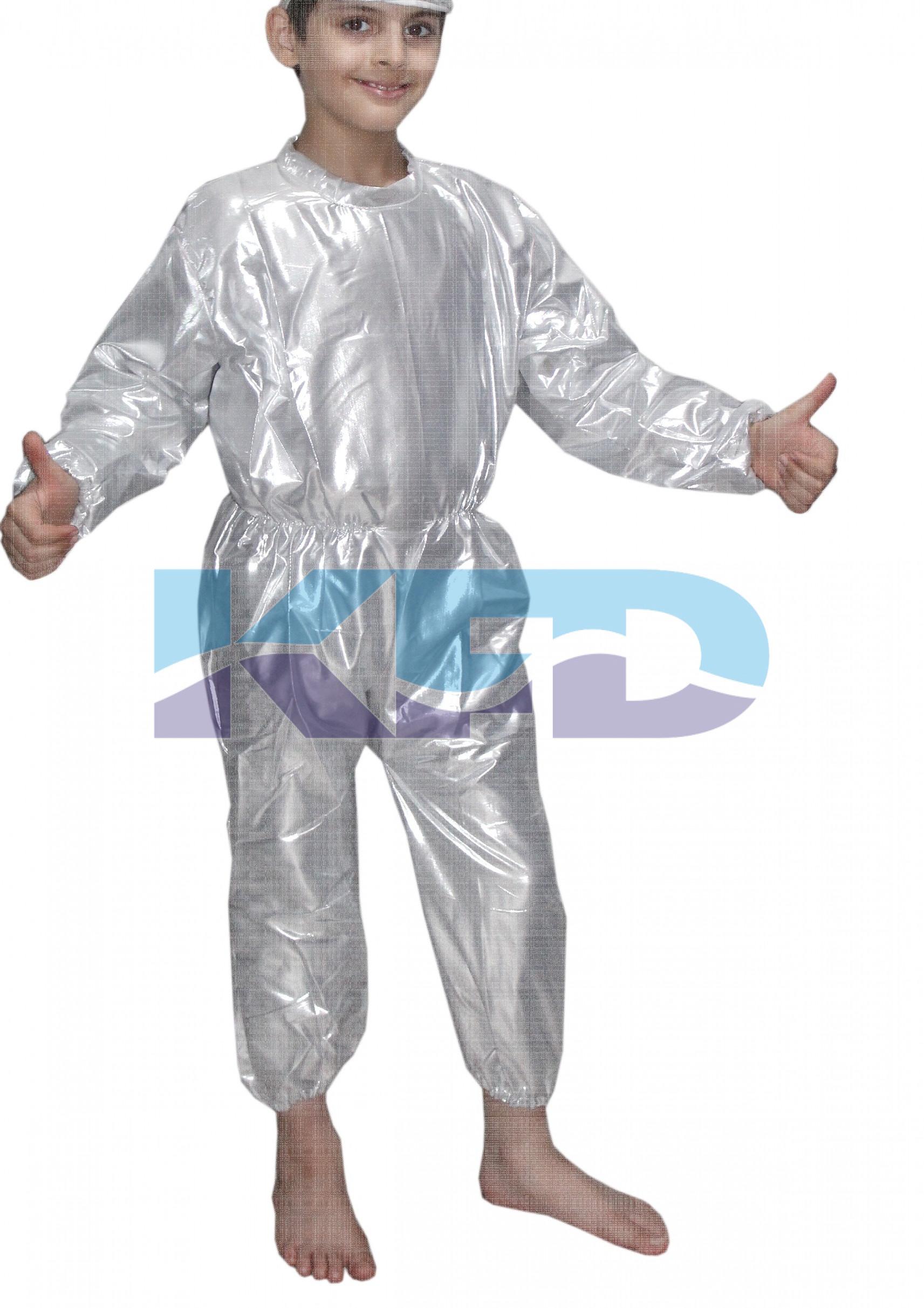 Jumpsuit silver