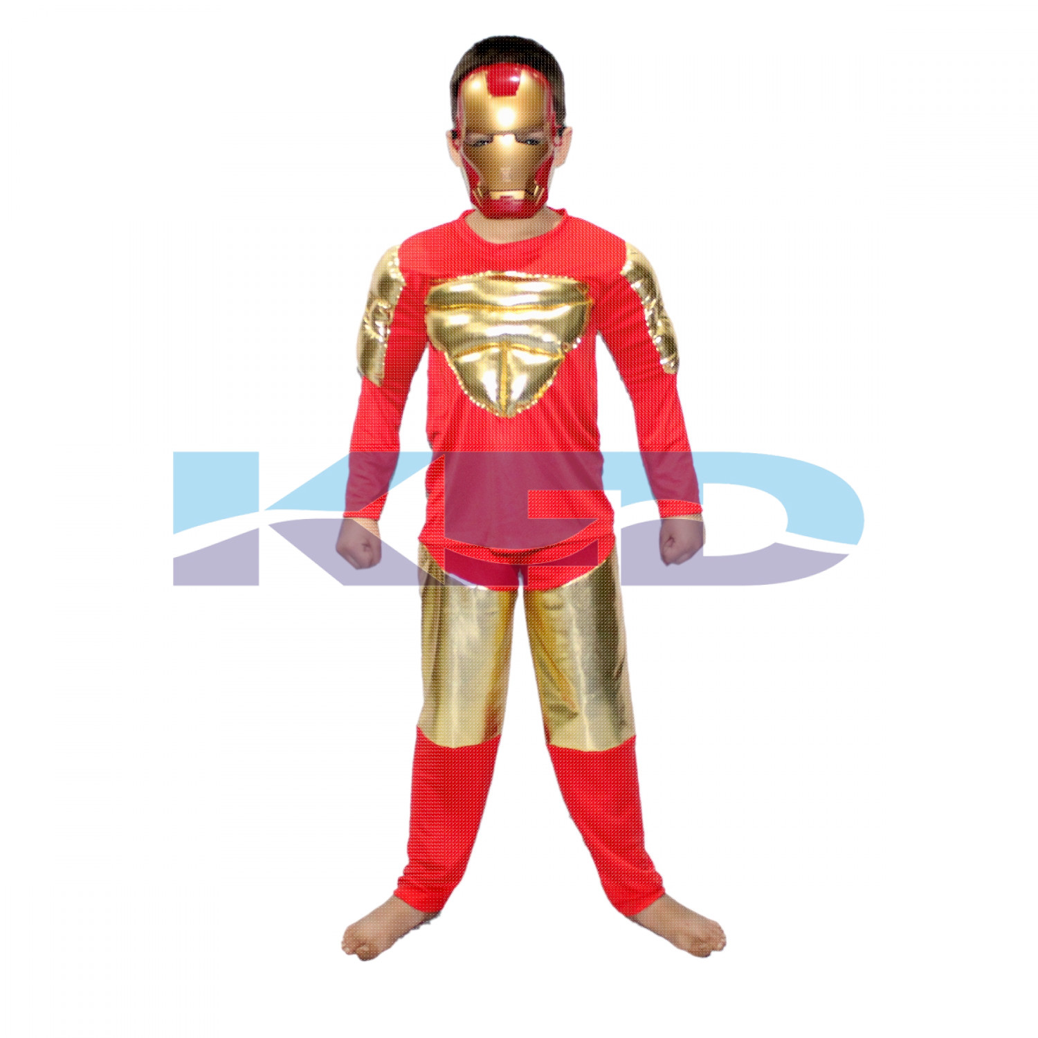 Iron Man fancy dress for kids,Super Hero Costume for Annual function/Theme Party/Stage Shows/Competition/Birthday Party Dress