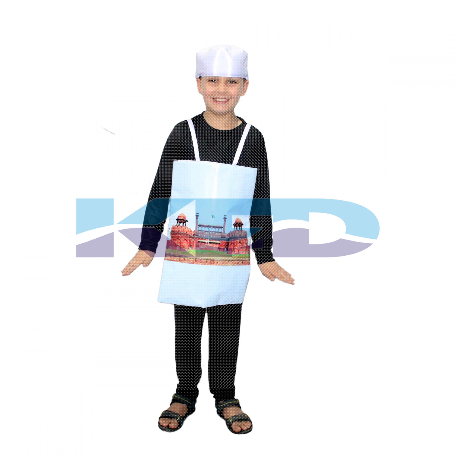 Red Fort Costume For Kids/historical Costume For Kids/Classical Place Fancy Dress/For Kids Annual function/Theme Party/Competition/Stage Shows/Birthday Party Dress