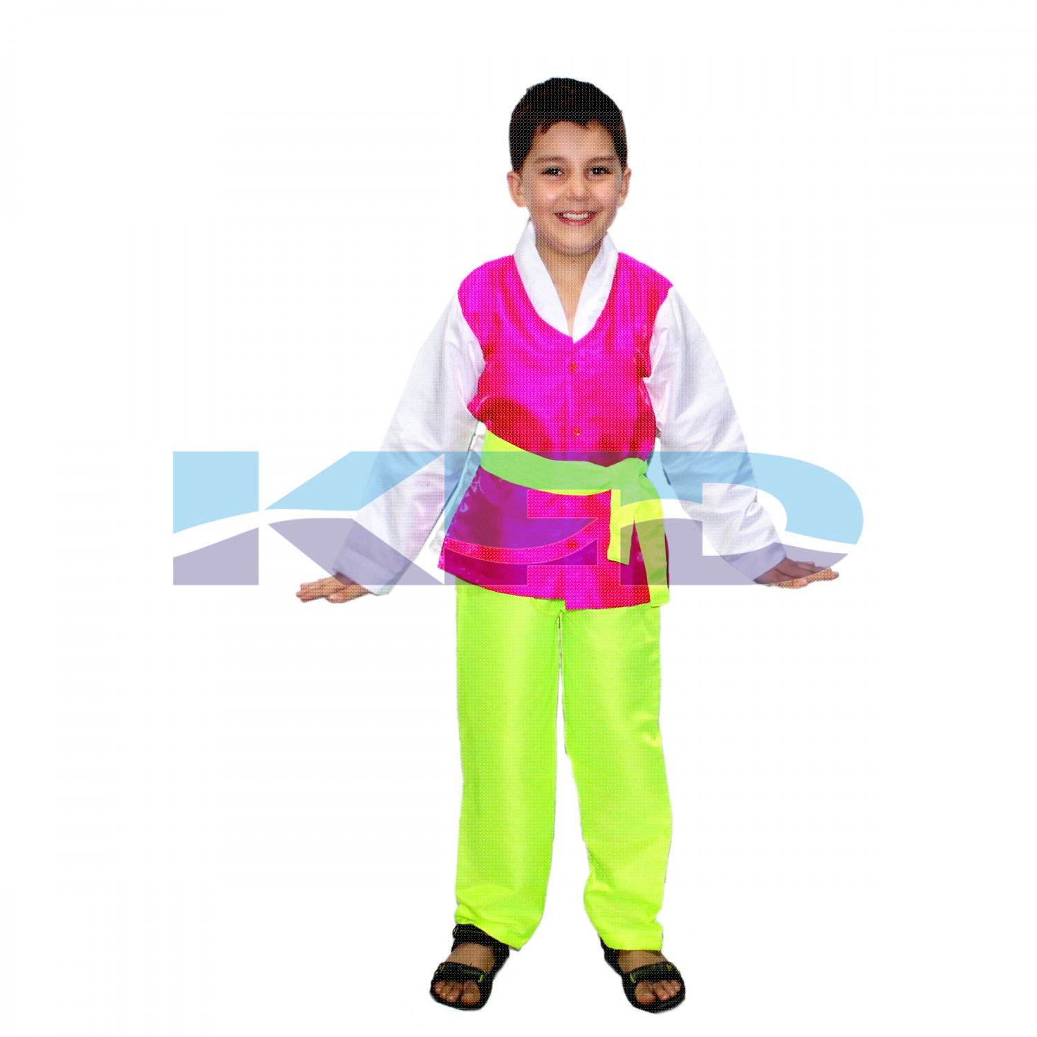 Korean Boy Costume for kids/International traditional costume for kids/Halloween costume/Theme Party/Competition/Stage Shows/Birthday Party Dress