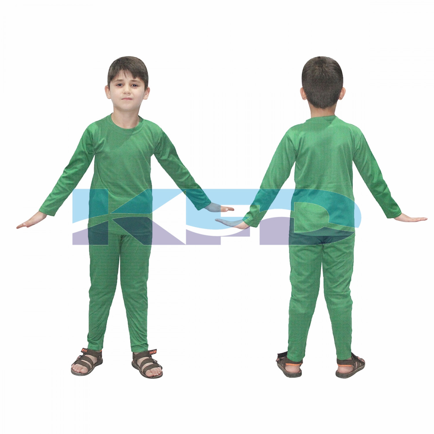 Track Suite Green Color fancy dress for kids,Costume for School Annual function/Theme Party/Competition/Stage Shows/Birthday Party Dress