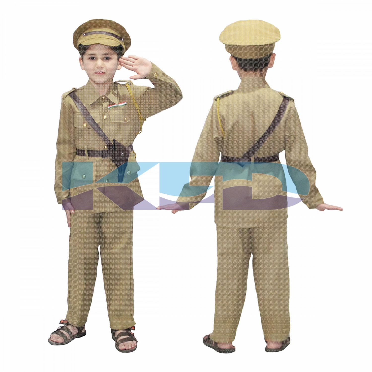 Police Man Our Helper Costume For Kids School Annual Function/Theme Party/Competition/Stage Shows Dress