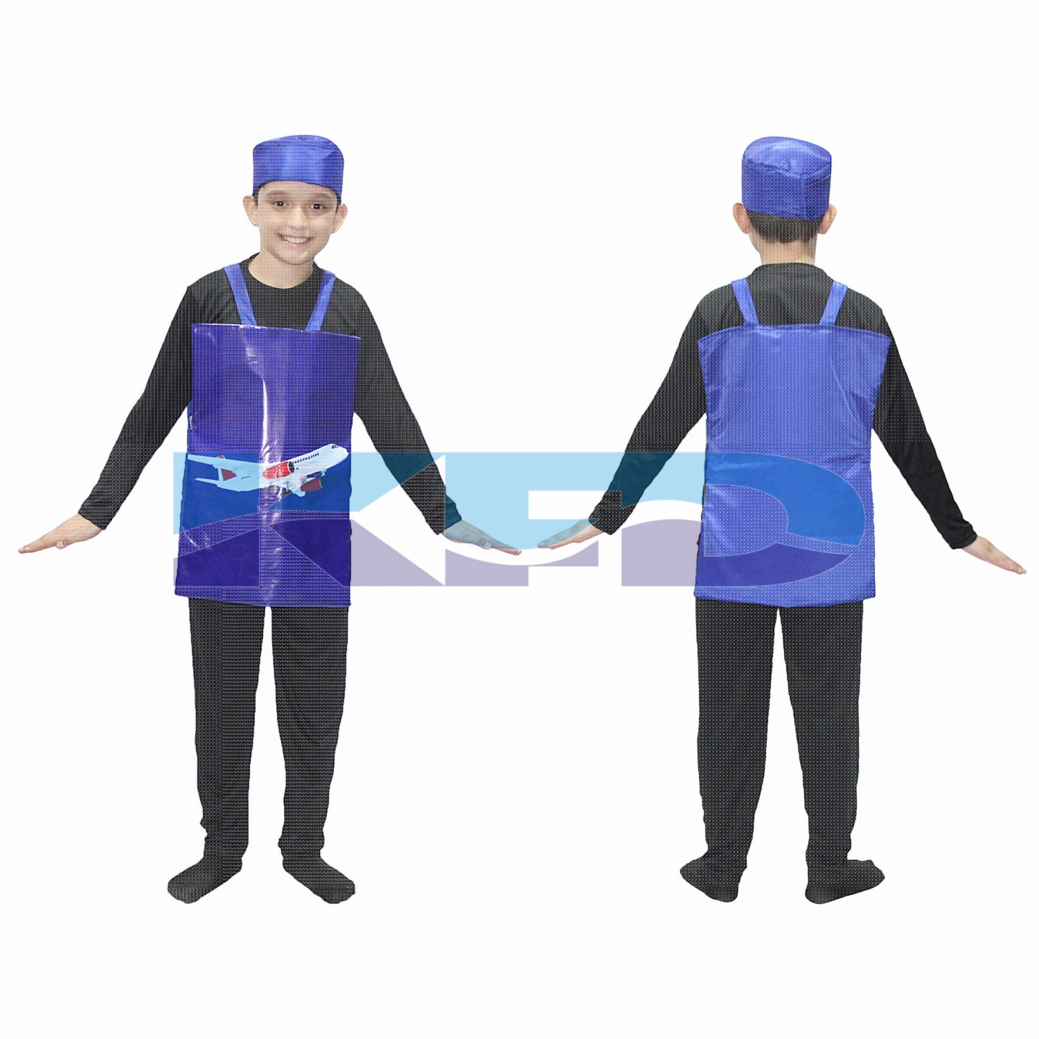 Aeroplane Fancy Dress/Object Costume/Object Fancy Dress For Kids /For Kids School Annual function/Theme Party/Competition/Stage Shows Dress