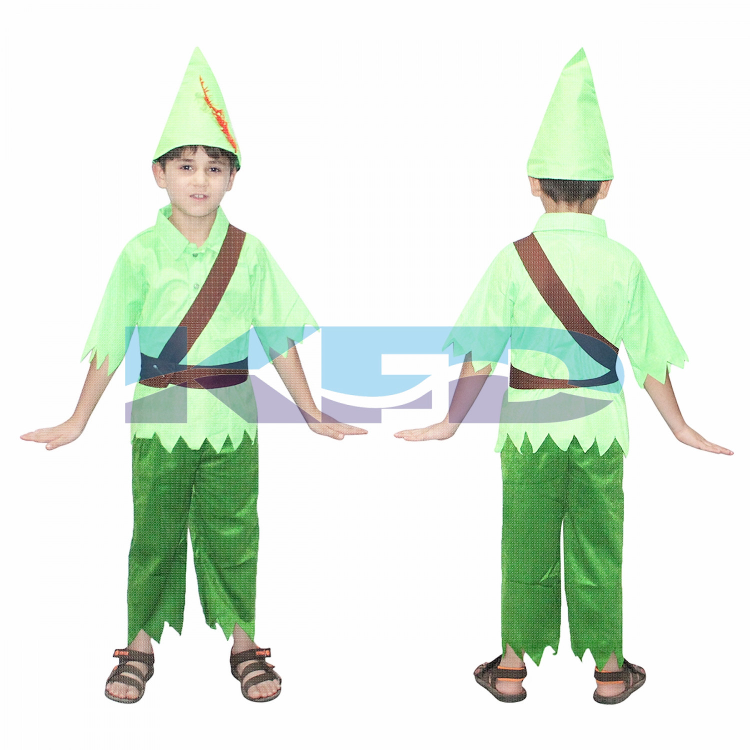 Peter Pan Fancy Dress for kids,Fairy Teles,Story book costume for Annual function/Theme Party/Competition/Stage Shows/Birthday Party Dress