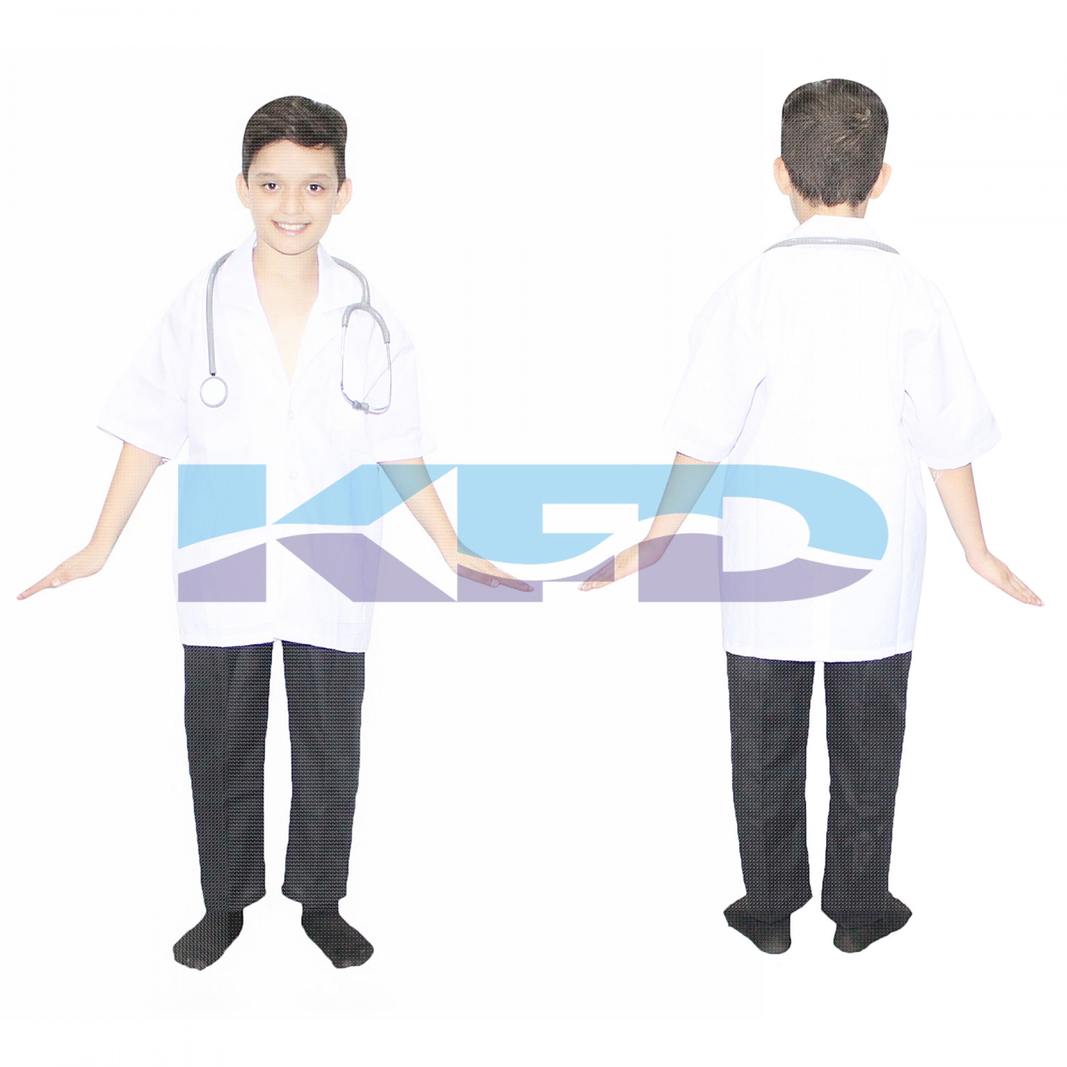 Doctor Fancy Dress For Kids,Our Helper Costume for Annual Function/Theme Party/Competition/Stage Shows Dress