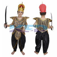 Ravan Kavach fancy dress for kids,Ramleela/Dussehra/Mythological Character for Annual function/Theme Party/Competition/Stage Shows Dress