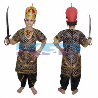 Ravan Gown fancy dress for kids,Ramleela/Dussehra/Mythological Character for Annual function/Theme Tarty/Competition/Stage Shows Dress
