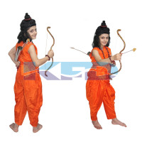 Vanvasi Ram fancy dress for kids,Luv,Khush/Laxman/Ramleela/Dussehra/Mythological Character for Annual function/Theme Party/Competition/Stage Shows Dress