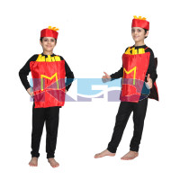 French fries fancy dress for kids,Object Costume for School  Annual function/Theme Party/Competition/Stage Shows Dress