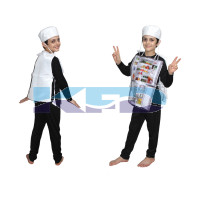 Refrigerator fancy dress for kids,Object Costume for School Annual function/Theme Party/Competition/Stage Shows Dress