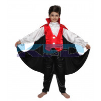 Vampire Dracula fancy dress for kids,Halloween Costume for Annual function/Theme Party/Competition/Stage Shows Dress