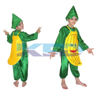 Banana fancy dress for kids,Fruits Costume for School Annual function/Theme Party/Competition/Stage Shows Dress