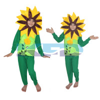 Yellow Flower Costume,Rose Costume,Nature Costume For School Annual function/Theme Party/Competition/Stage Shows/Birthday Party Dress