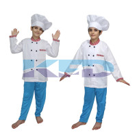 Chef fancy dress for kids,Our Helper Costume for Annual function/Theme Party/Competition/Stage Shows Dress