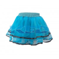 Tu Tu Skirt Firozi fancy dress for kids,Western Costume for Annual function/Theme Party/Competition/Stage Shows/Birthday Party Dress