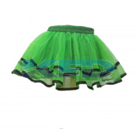 Tu Tu Skirt Green fancy dress for kids,Western Costume for Annual function/Theme Party/Competition/Stage Shows/Birthday Party Dress