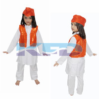 Qawwali Jacket Orange