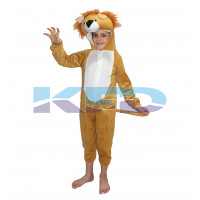Lion fancy dress for kids,Wild Animal Costume for Annual function/Theme Party/Competition/Stage Shows/Birthday Party Dress