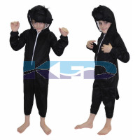 Gorilla fancy dress for kids,Wild Animal Costume for School Annual function/Theme Party/Competition/Stage Shows Dress