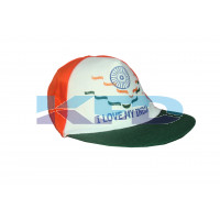Tri Color Cap For Independence Day/Republic Day/School Annual function/Theme Party/Competition/Stage Shows/Birthday Party Dress(3 pcs set)