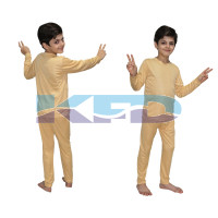 Track Suite Skin Color fancy dress for kids,Costume for School Annual function/Theme Party/Competition/Stage Shows/Birthday Party Dress