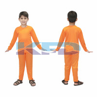 Track Suite Orange Color fancy dress for kids,Costume for School Annual function/Theme Party/Competition/Stage Shows/Birthday Party Dress