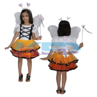 Butterfly Fancy dress for kids,Insect Costume for School Annual function/Theme Party/Competition/Stage Shows Dress