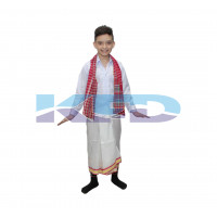 Tripura Boy fancy dress for kids,Indian State Traditional Wear for Annual function/Theme Party/Competition/Stage Shows/Birthday Party Dress