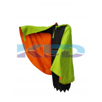 Halloween Cape in Green color for adult